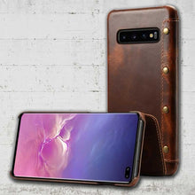 Load image into Gallery viewer, Genuine Leather Samsung Galaxy S10e
