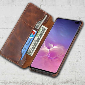 Genuine Leather Samsung Galaxy S10 plus