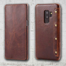 Genuine Leather Samsung Galaxy S9 plus