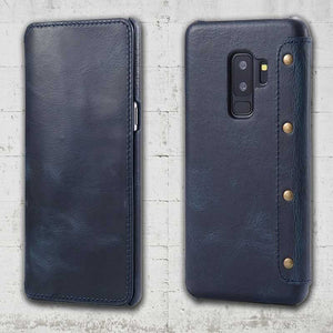 Galaxy S9 plus Genuine Leather case