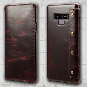 Galaxy Note 9 Genuine Leather case
