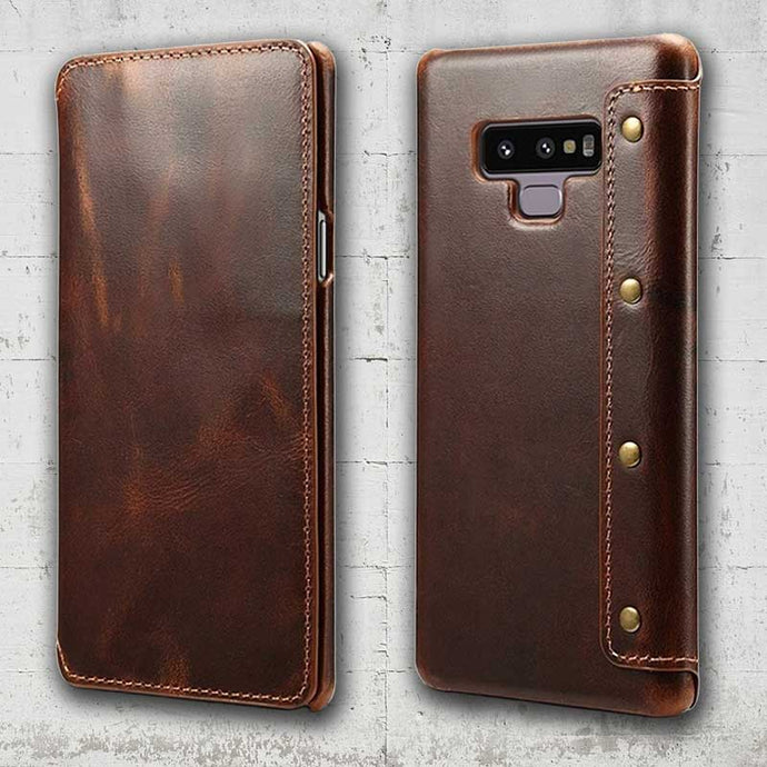 Picture of Leather phone case for Galaxy Note 9