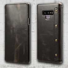 Galaxy Note 9 leather flap case