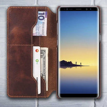 Leather wallet phone case galaxy note8