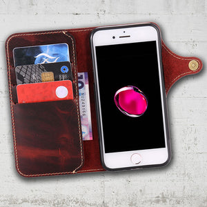 wallet organizer with cell phone pocket