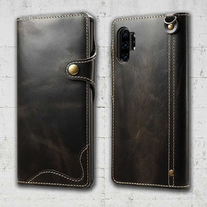 handmade leather note 10 case