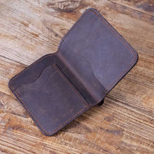 Traditional Leather Bifold Wallet