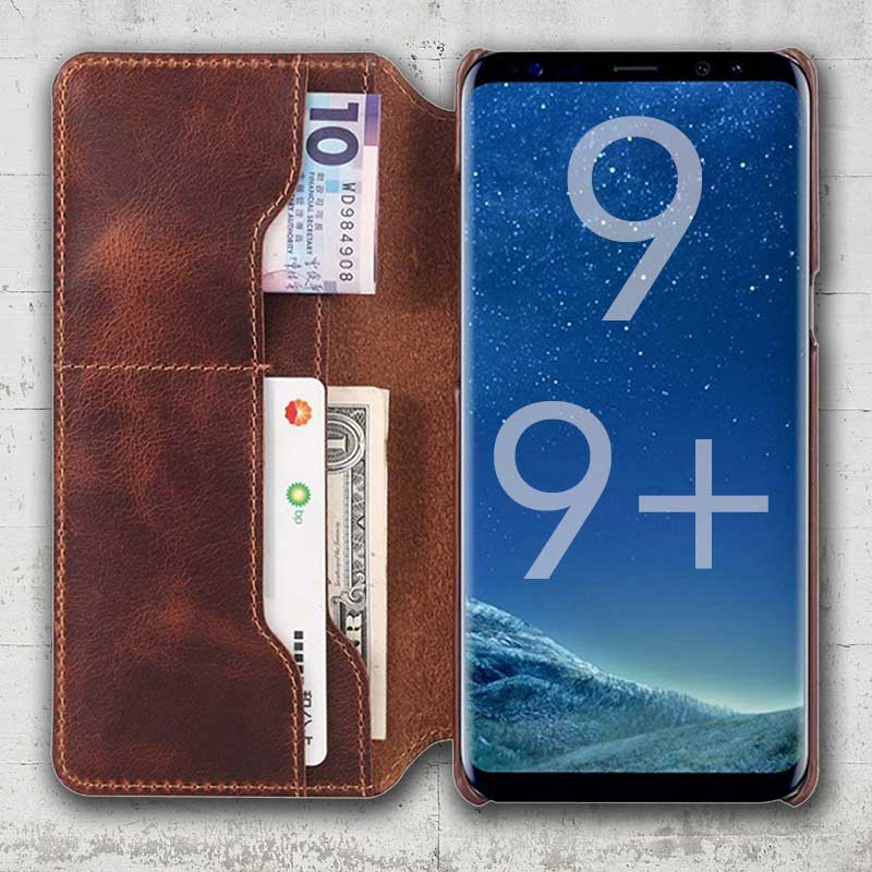 Picture of Flip Leather case for Samsung Galaxy S9 Plus S9plus