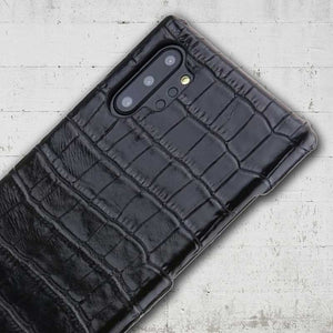 faux crocodile note10 case