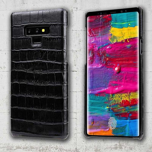 croc leather galaxy note9 case