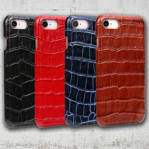 crocodile skin phone case