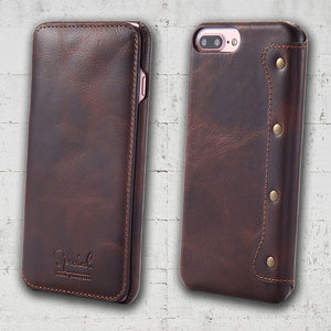 leather folio case for iPhone SE 2020