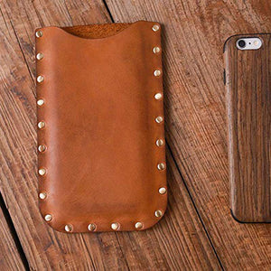 Leather Phone Sleeve