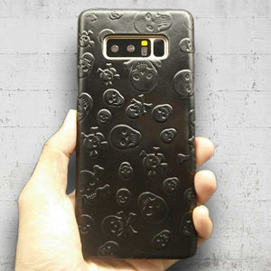 Leather Skull case for Samsung Galaxy Note8