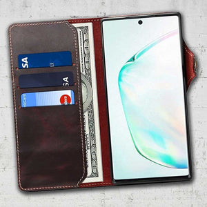 magnetic detachable wallet case for samsung galaxy note 10