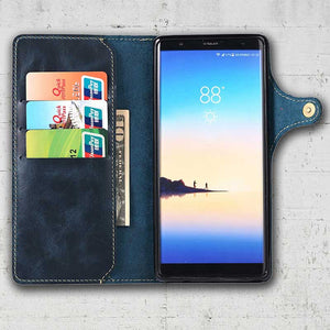 Note 8 leather wallet