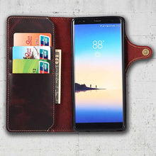Load image into Gallery viewer, Note 8 Leather wallet phone case