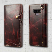 Load image into Gallery viewer, magnetic detachable wallet case for samsung galaxy note 9