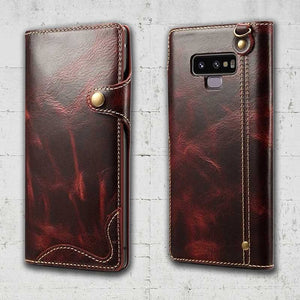 magnetic detachable wallet case for samsung galaxy note 9