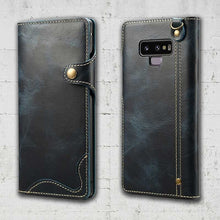 Leather Wallet case for Galaxy Note 9