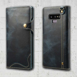note 9 leather back cover