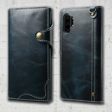 Load image into Gallery viewer, note10 genuine leather case