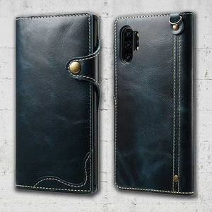 note10 genuine leather case