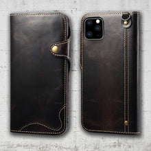Load image into Gallery viewer, leather phone wallet