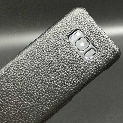 Leather Snap-On cover for Samsung Galaxy