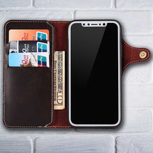 Load image into Gallery viewer, mens cell phone wallet for iPhoneX
