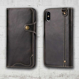 iPhone XS-max Leather wallet