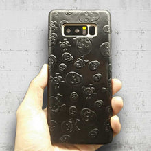 Load image into Gallery viewer, This is an image of Samsung Galaxy Note8 Genuine Leather Skull Case