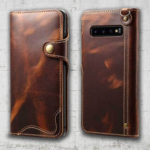 Load image into Gallery viewer, True Leather Case for Galaxy S10