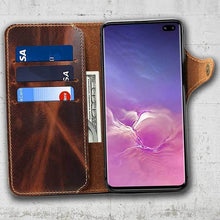 Load image into Gallery viewer, Brown S10plus Wallet