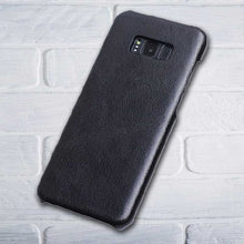 Black Leather cover for Galaxy Note 8
