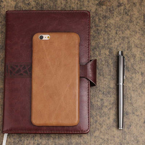 Ultra-slim Leather cover for iPhone 7