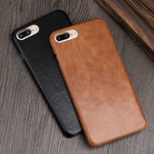 Load image into Gallery viewer, Genuine Leather iPhone 8 case