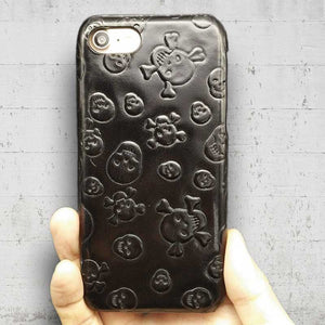 Leather Skull Case