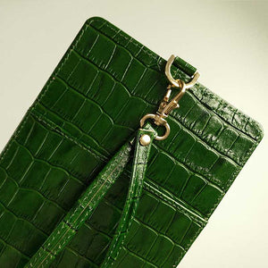Crocodile Pouch - Cowhide Leather