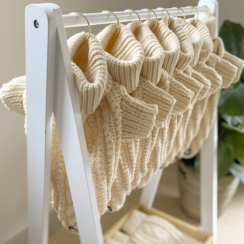 NEW! Cosy Knitted Jumper: Cosy Cream