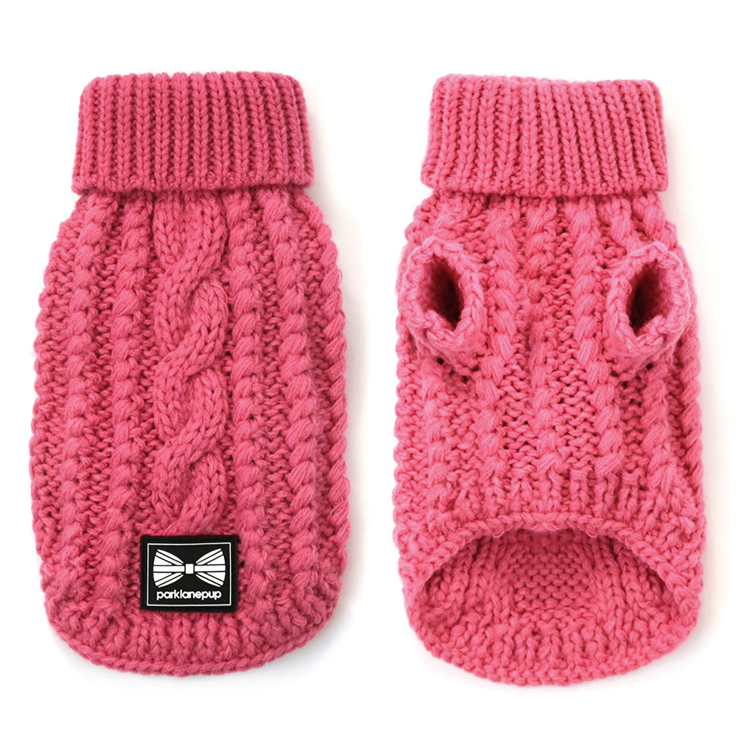 Cosy Knitted Jumper: Pretty Pink