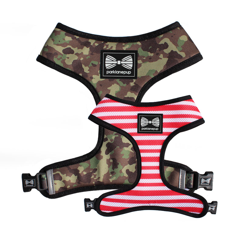 Reversible Harness:  Sergeant Stripe