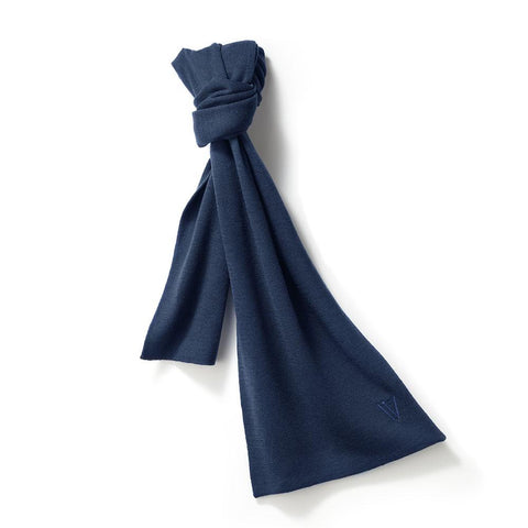 Merino Scarf Royal Blue