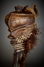 "PENDE ""long Bearded"" Mask Mbuya Kiwoyo Muyombo. Democratic Republic of the Congo."