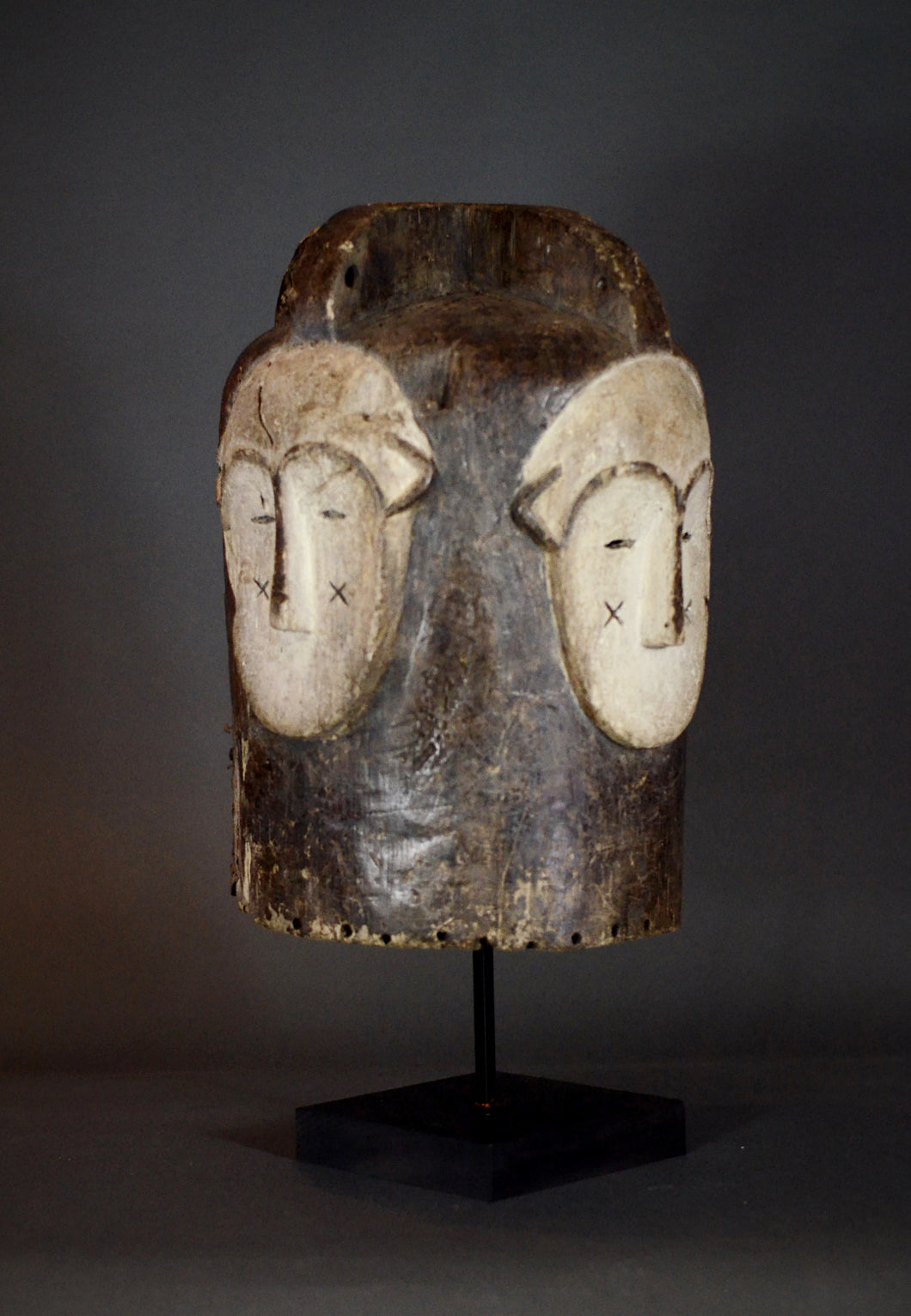 FANG Ngontanga Four-Faced Helmet Mask - Gabon