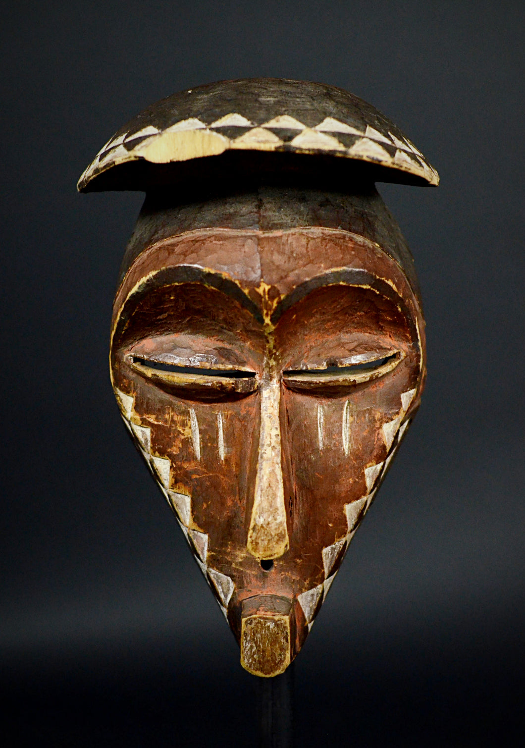 Eastern Pende Kasai mask. D.C.R.