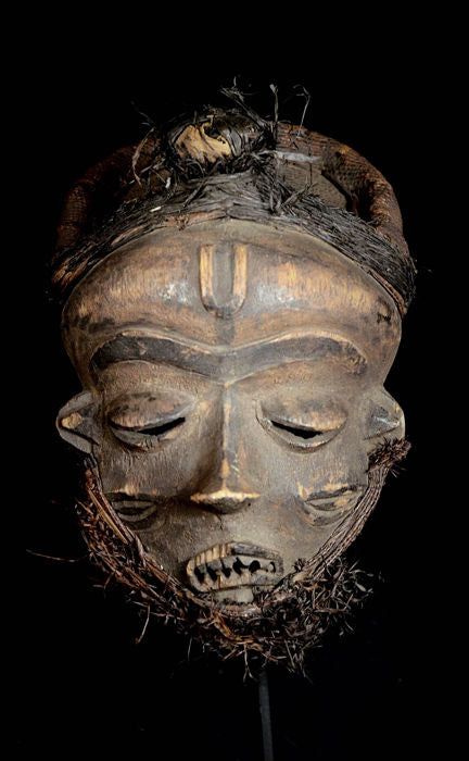 Old Mbangu Katundu Mbuya PENDE mask - Democratic Republic of the Congo