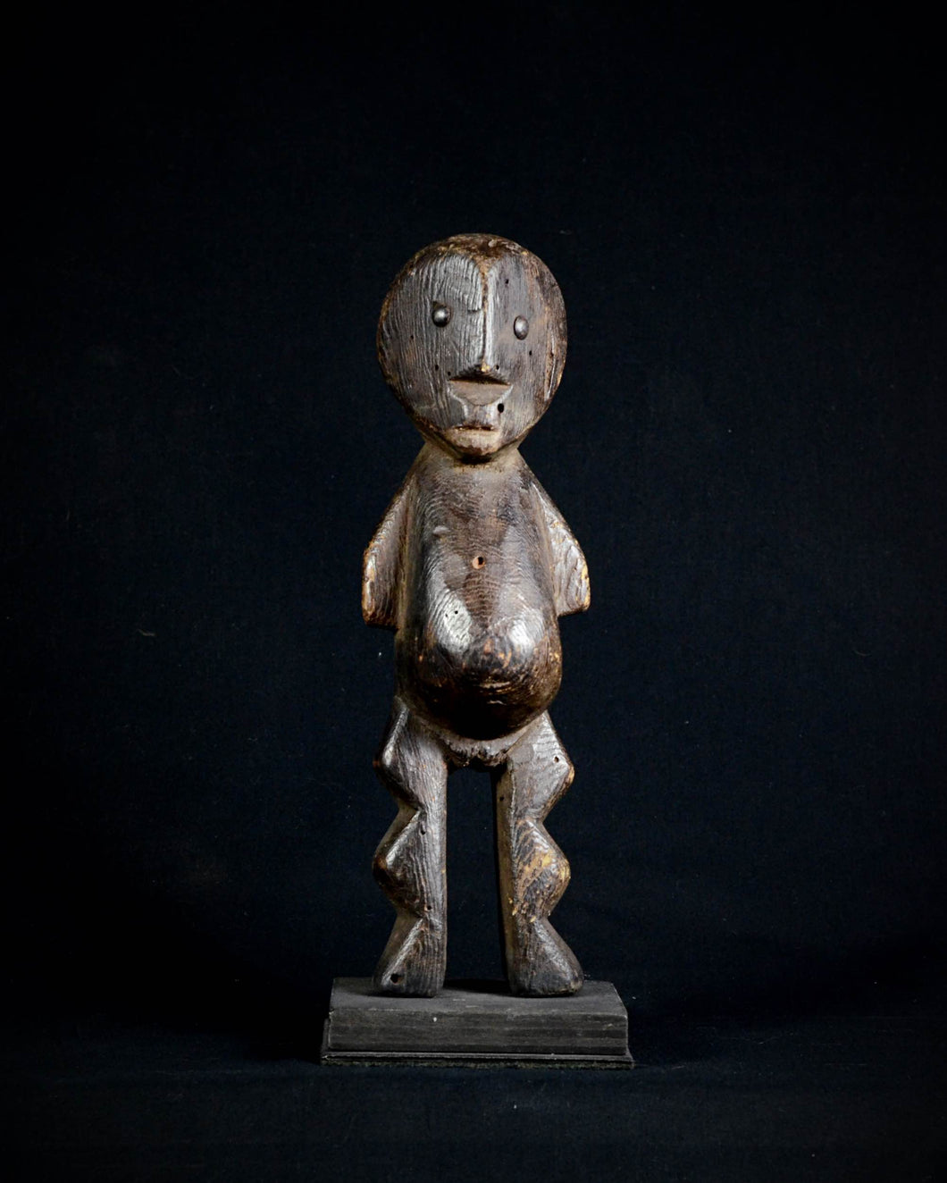 Cubistic Iginga Lega Figure. Democratic Republic of the Congo