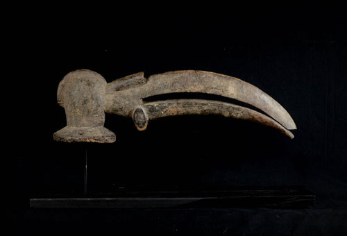 Bird Beak shaped Gagon from the Kran - Nigeria
