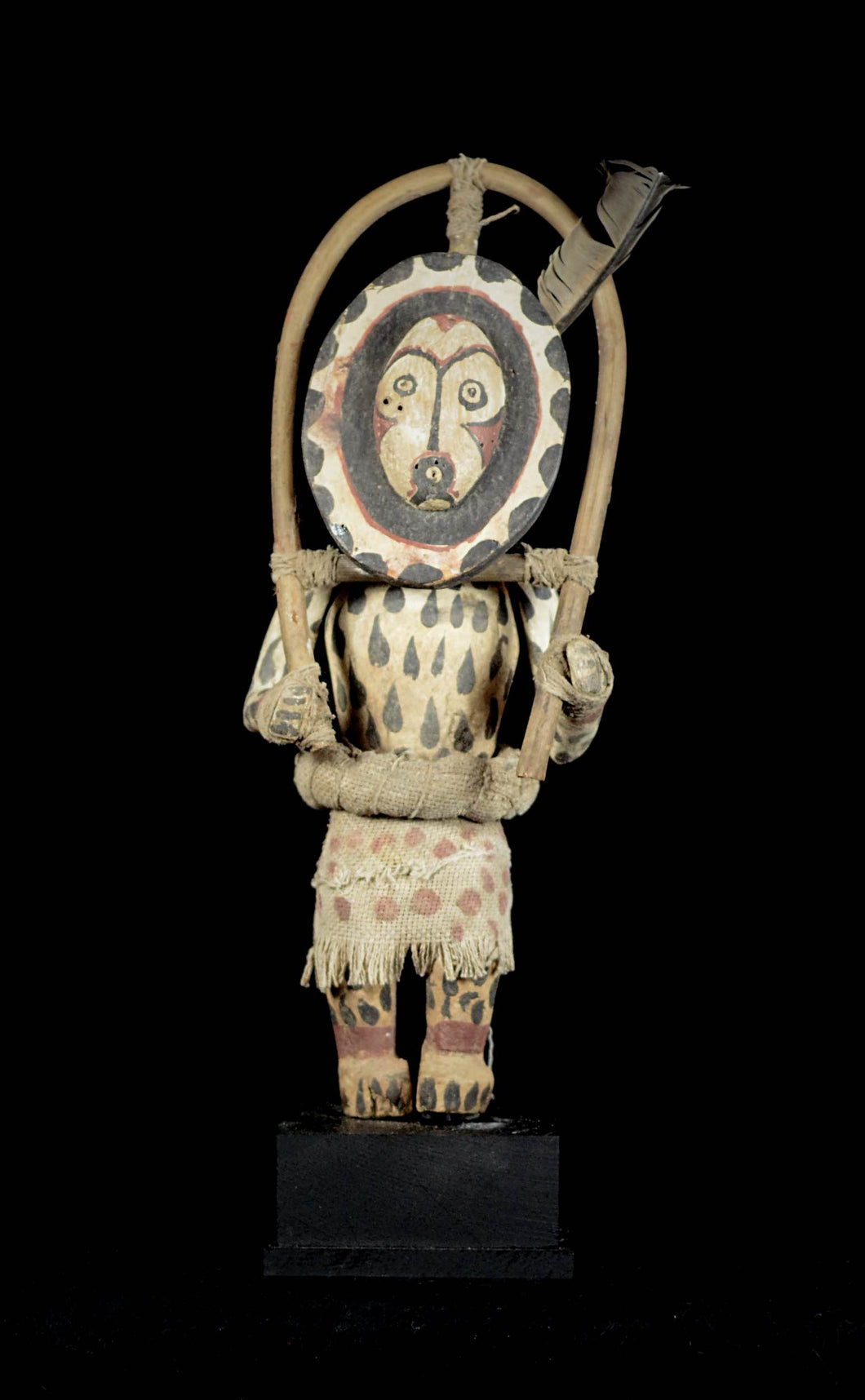 Great KACHINA Doll from the HOPI Indians - Amerindians - USA